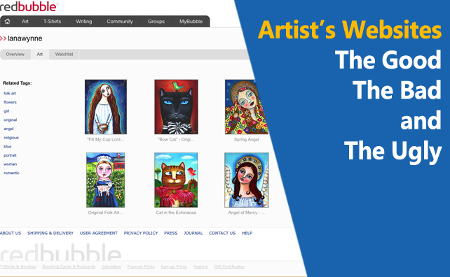 Artist's Websites – The Good, The Bad, and The Ugly