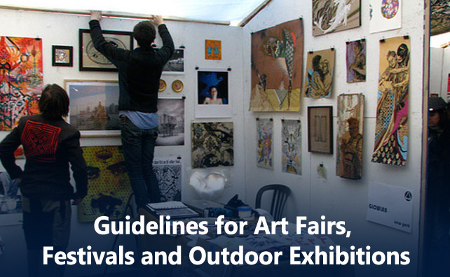 Guidelines for Art Fairs, Festivals and Outdoor Exhibitions