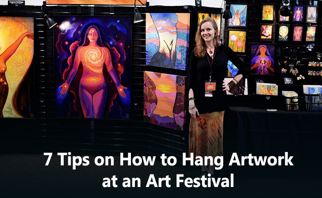 7 Tips on How to Hang Artwork at an Art Festival