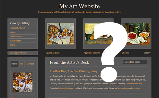 Selling Art Online – Does It Work?
